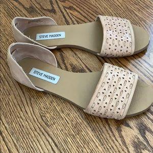 Steve Madden nude sandals